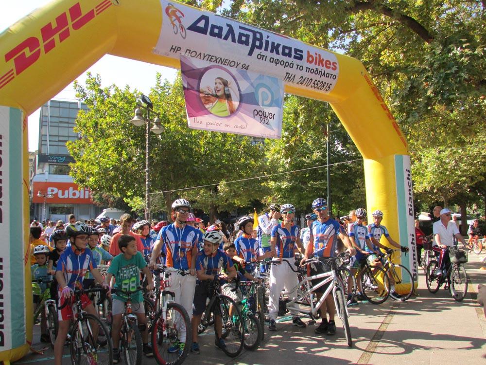 Ποδηλατοδρομία Λάρισας